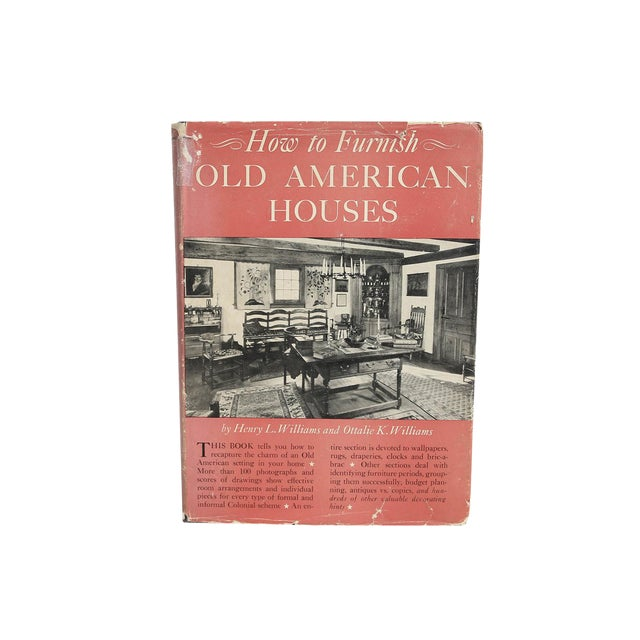 How to furnish old american houses 1949 book chairish for Old american houses