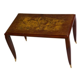 Jean Pascaud Small Lacquered Side or Coffee Table