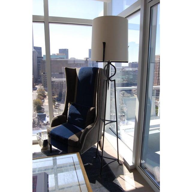 Fladdermus Tall Wingback Chair Chairish