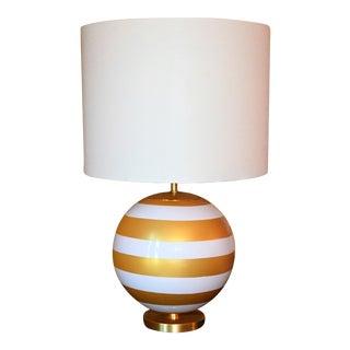 Gold & Cream Kate Spade Table Lamp
