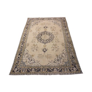 Vintage Turkish Anatolian Rug - 6′2″ × 9′10″