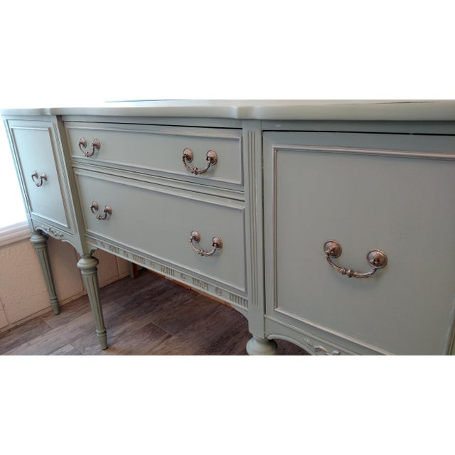 Refinished Vintage French Provincial Buffet - Image 5 of 6