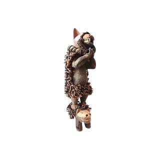 Nkisi Hyena Sculpture