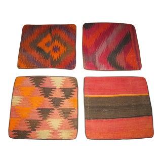 Vintage Kilim Pillow Cases - Set of 4