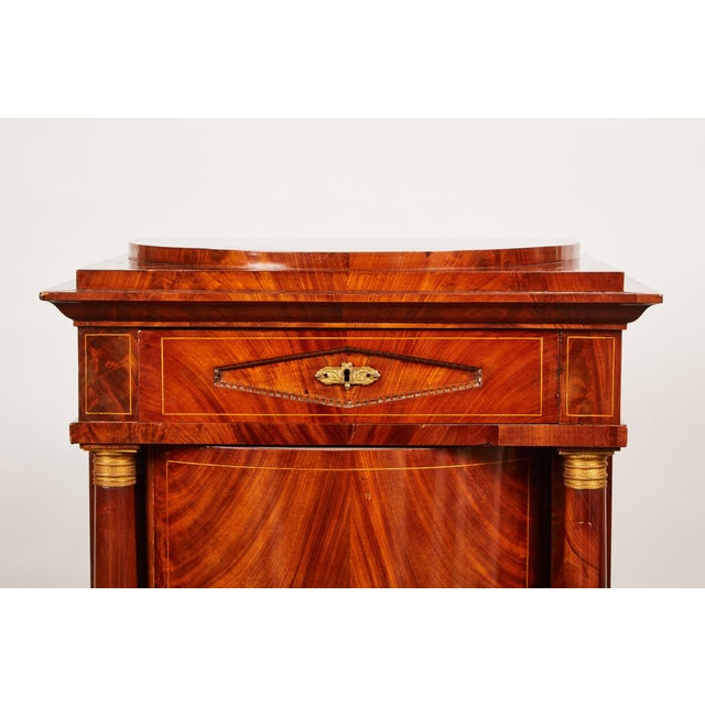 19th Century Danish Mahogany Empire Cabinet - Image 3 of 11