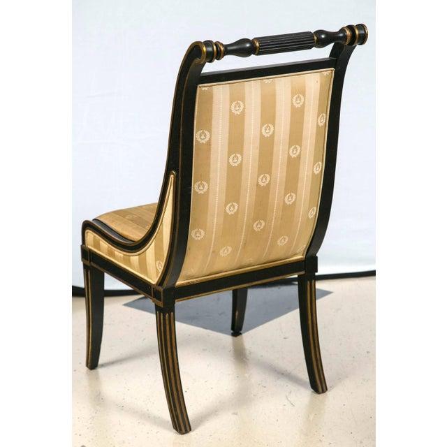 John Stuart Saber Leg Dining Chairs - Set of 6 - Image 7 of 9