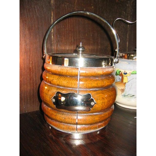 Image of Antique Biscuit Barrel