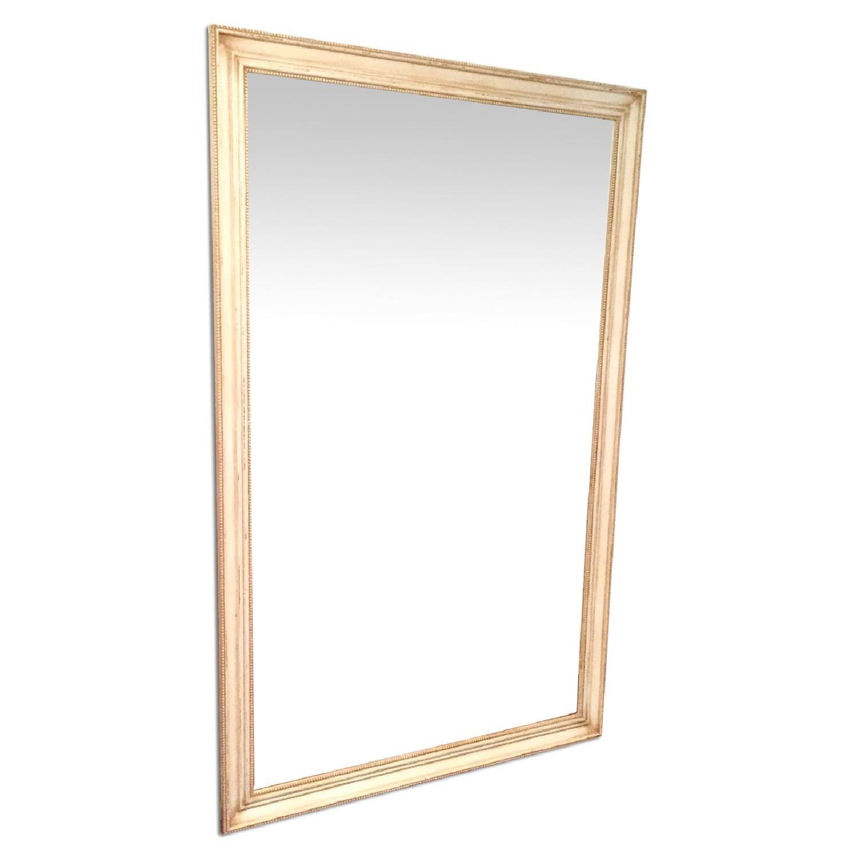 Framed floor mirror