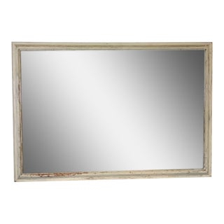 Shabby Chic White Wooden Frame Mirror
