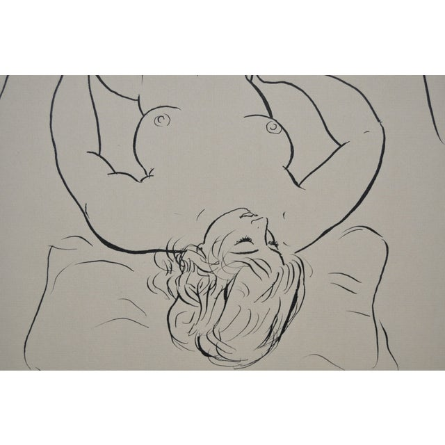Image of Figural Nude Pen & Ink