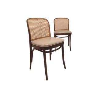 Josef Hoffmann for Thonet Chairs - A Pair