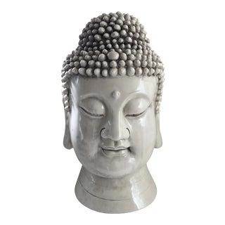 Chinese Blanc De Chine Buddha Head