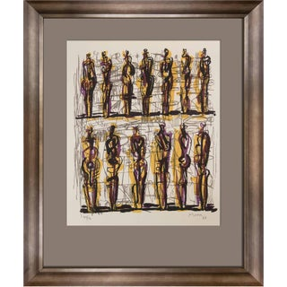Henry Moore Signed Original Lithograph