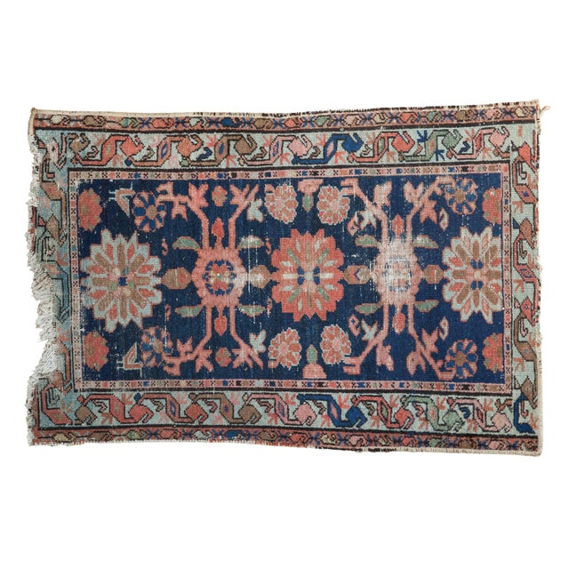 "Distressed Antique Lilihan Rug - 2'4"" x 3'7"" - Image 1 of 7"