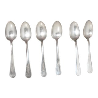 Antique Silverplate Horn & Hardart Automat Spoons - Set of 6