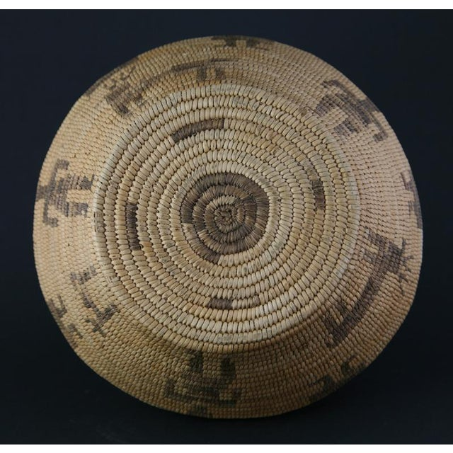 Pima Figurative Basketry Olla, circa 1920 - Image 6 of 7