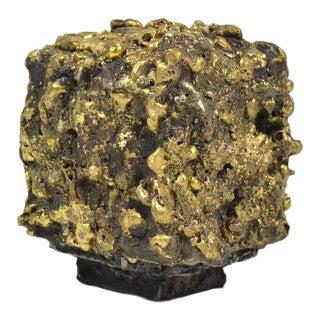 """James Bearden Steel and Bronze """"Barnacle Box"""" Sculpture/Trinket Box"""