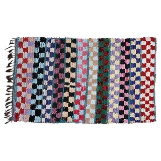 Colorful Moroccan Rug - 6'2'' X 3'2''