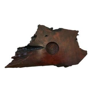 Driftwood Potpourri Sculpture Bowl