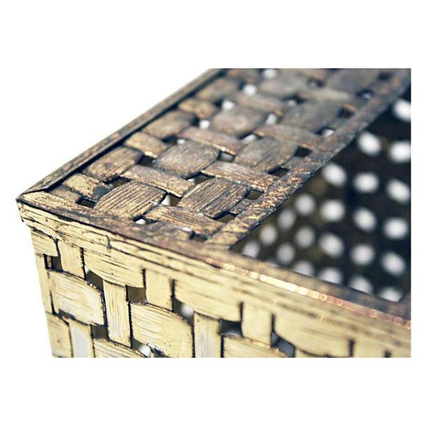 Bamboo Style Tissue Box Cover - Image 3 of 4