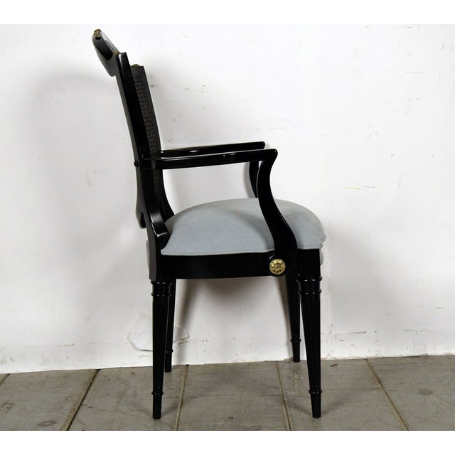 Image of Hollywood Regency Dining Chairs - Set of 6