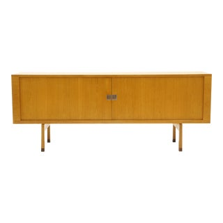 Hans Wegner Credenza, Oak, Tambour Doors, Excellent Condition