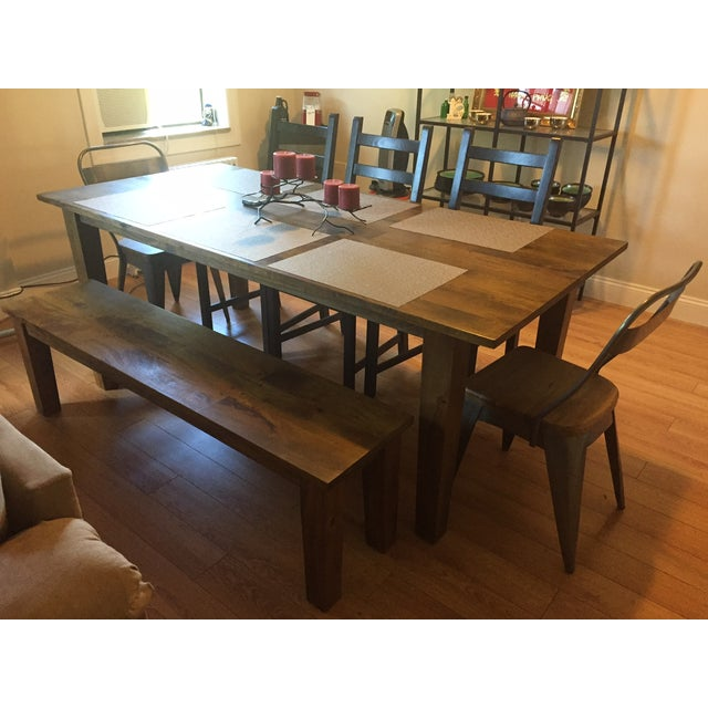 Crate And Barrel Dining Sets: Crate And Barrel & West Elm Dining Set