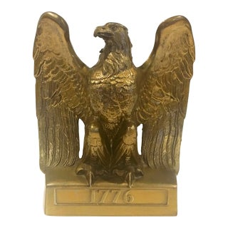 U.S.A. Brass Eagle Bookend