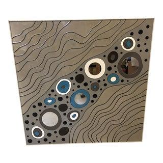 Modern Geometric Art on Board