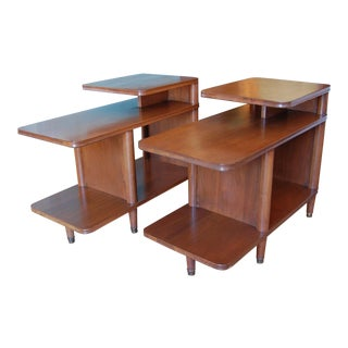 Mid-Century End Tables - A Pair