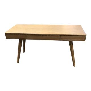 Mid-Century Modern Inspired Bamboo Desk
