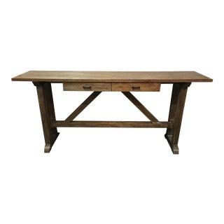 Bassett Wooden Console Table