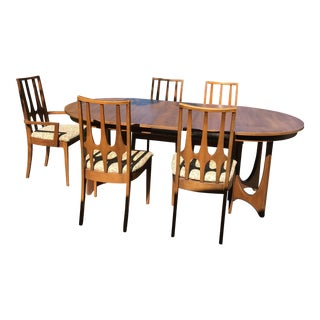 Mid-Century Brasilia Walnut Dining Set