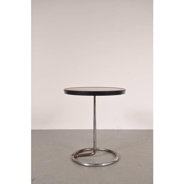 Large Edition Side Table by René Herbst for Stablet, France, 1935 - Image 3 of 10