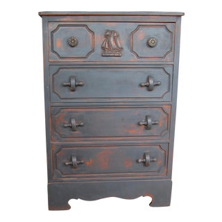 Nautical Inspired Highboy Dresser