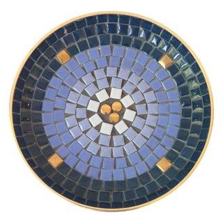 Mid-Century Mosaic Shallow Bowl