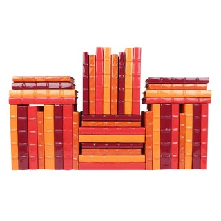Fiery Patent Leather Books - Set of 40