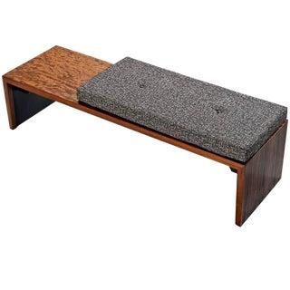 Milo Baughman Mid Century Modern Bench