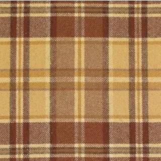 Duralee Pumpkin Wool Fabric - 5 Yards