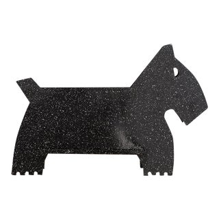 Scottish Terrier Newspaper Holder