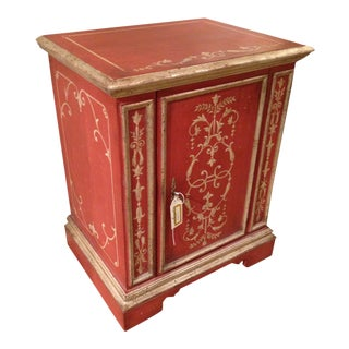 Novella Red Painted Cabinet