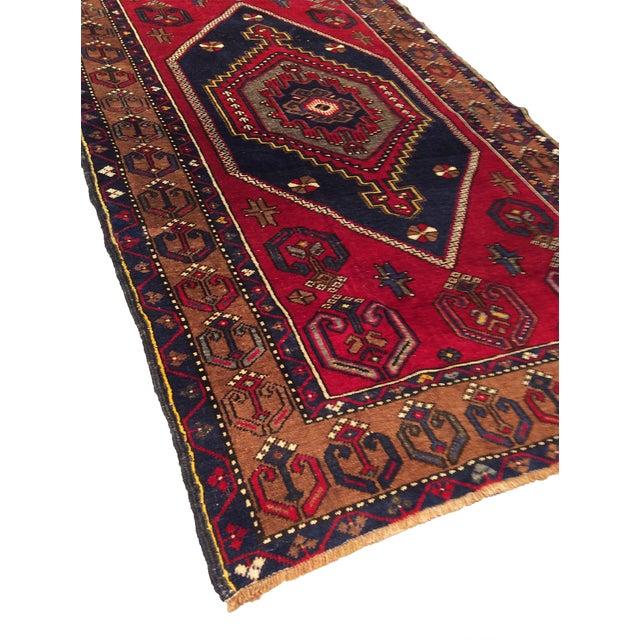Vintage Turkish Kilim Rug - 3′8″ × 6′3″ - Image 3 of 3