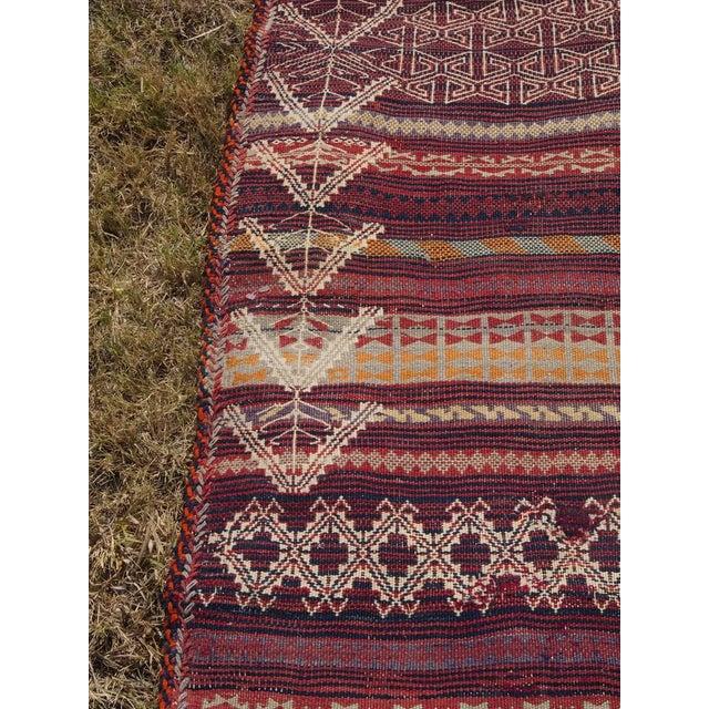 Traditional Handmade Kilim Rug - 4′6″ × 8′1″ - Image 8 of 9