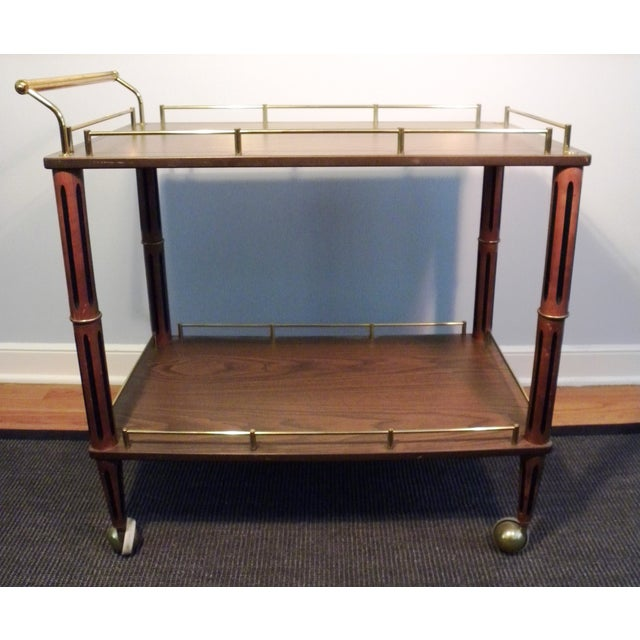 Mid Century Bar Cart or Tea Cart - Image 2 of 7