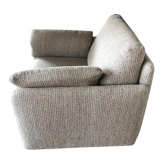 Contemporary Gray Upholstered Armchair