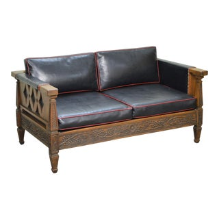Romweber Viking Oak Vintage Loveseat