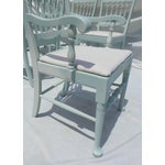 Image of Cottage Mahogany Sea Breeze Chairs - Set of 6