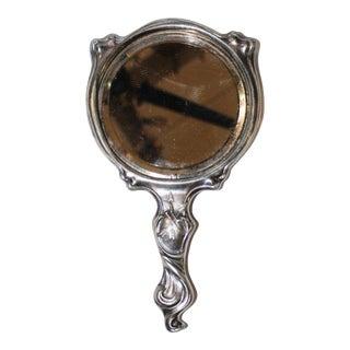 Antique Art Nouveau Vanity Mirror