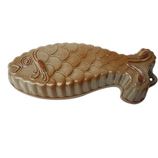 Mid-Century West German Ceramic Fish