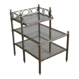 Hollywood Regency Metal Table
